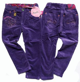 PAMPOLINA® Hose Velvet Pop Art lila Gr. 98   140 H/W 12/13 NEU