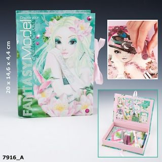 TopModel Fantasy Model Create your Glitter Cards Creativset Box 8