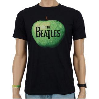 The Beatles   Apple Logo Band T Shirt, schwarz