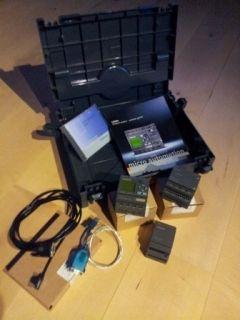 Siemens LOGO 12/24RC Starter Kit + LOGO Power + LOGO Erweiterung