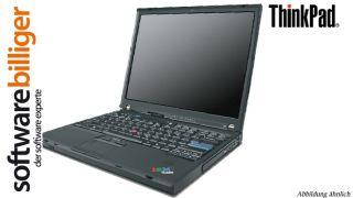 IBM ThinkPad T42 Laptop Intel Pentium M 1 70 Notebook GHz 512 MB 40 GB