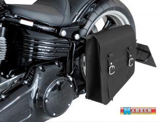 Satteltasche 13ltr Harley Davidson Softail Slim Custom DeLuxe