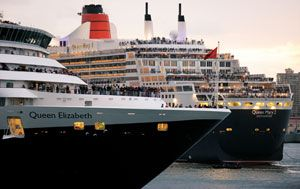 QUEEN ELIZABETH  Kreuzfahrt  VP  Queen Mary 2  Luxus  Reisen