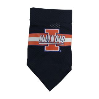 Illinois Fighting Illini Official Dog Collar Bandana    Bandanas   NCAA