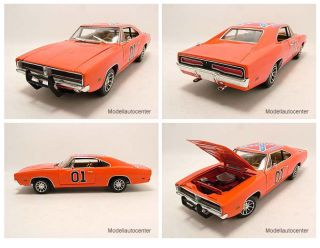 Dodge Charger 1969 General Lee / Dukes, Modellauto 118 / Ertl