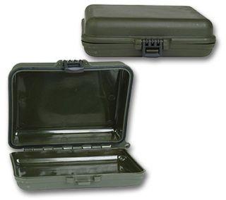 Geocaching Small Cache Box, Transportbox, oliv, NEU