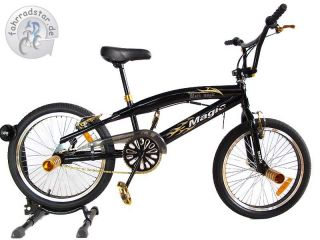 20 Zoll Kinderfahrrad BMX Fahrrad Black Magic Freestyle Bike