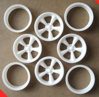 Resin 1/12 American Racing Torq Thrust II Mag Wheels