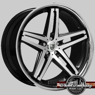20 Alufelgen Lexani R5 concave 8,5x20 ET45 5x112 Audi VW Seat Skoda