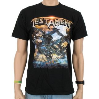 Testament   The formation of damnation Band T Shirt, bl