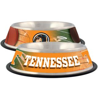 Tennessee Volunteers Stainless Steel Pet Bowl   Team Shop   Dog