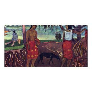 Raro Te Oviri By Gauguin Paul (Best Quality) Photo Card