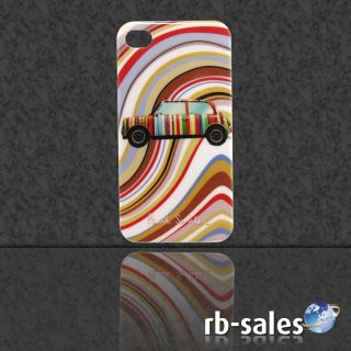 Apple iPhone 4 Hard Cover Case Hülle Tasche   Mini Cooper