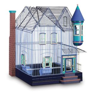 Prevue Featherstone Heights Victorian Bird Cage   Cages & Stands   Bird