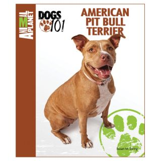 Animal Planet Dogs 101 American Pit Bull Terrier   Books  & Videos   Dog