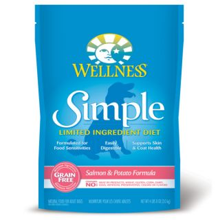 Wellness™ Simple Limited Ingredient Diet Salmon and Potato Adult Dog Food   Food   Dog