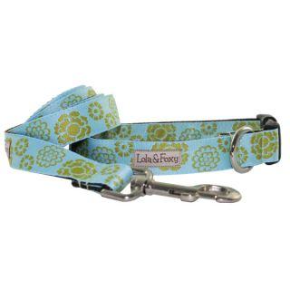 Lola & Foxy Nylon Dog Collars   Basil   Collars   Collars, Harnesses & Leashes