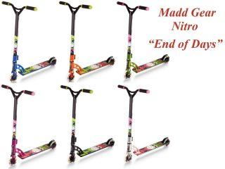 Stunt Scooter Madd Gear Ninja Od Nitro Stuntscooter MGP Profi Roller