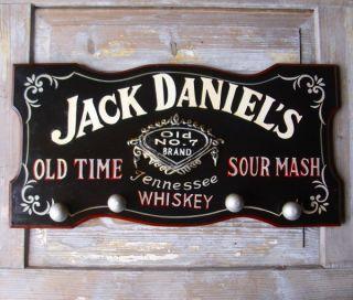 WANDGARDEROBE GARDEROBE JACK DANIELS WHISKEY NOSTALGIE BAR REKLAME