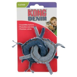 KONG� for Cats Denim Rings Toy   Plush Toys   Toys