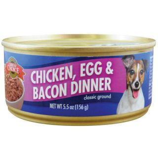 Grreat Choice� Chicken, Egg and Bacon Dinner Classic Ground Dog Food   Food   Dog