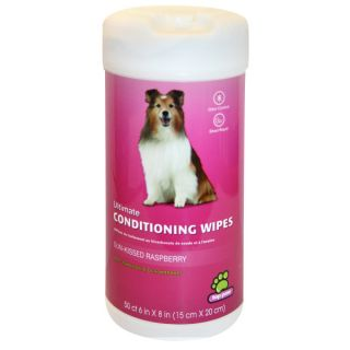 Top Paw™ Ultimate Conditioning Wipes   Raspberry   Grooming Supplies   Dog