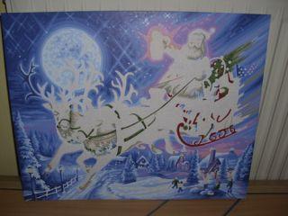 609300532   Malen nach Zahlen   Weihnachtsbild 2010 Limited Edition