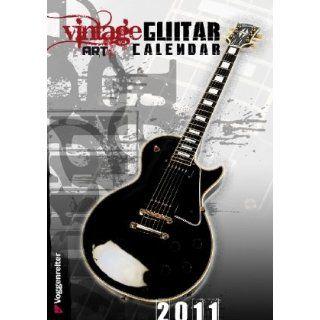 Vintage Art Guitar Calendar 2011 Christian Brackmann