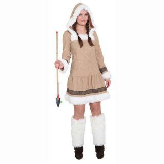 Damen Kostüm Eskimo Girl de Luxe, Gr. 34