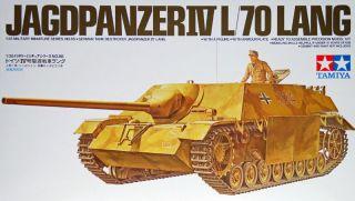 Tamiya 35088 JAGDPANZER IV L/70 LANG 1/35 scale kit