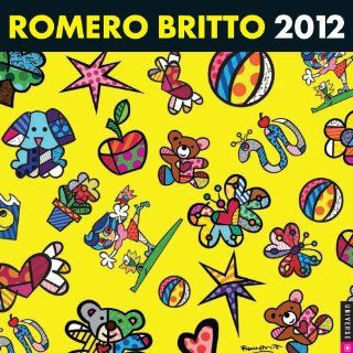 Romero Britto 2012 Wall Calendar Romero Britto Englische