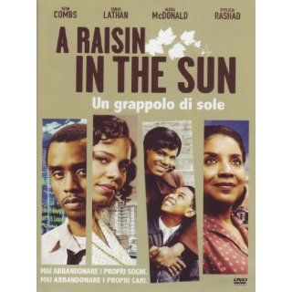 raisin in the sun   Un grappolo di sole: Sean Combs