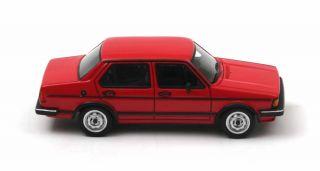 VW Jetta I 4 door Red 1980 (Neo Scale 143 / 43646)