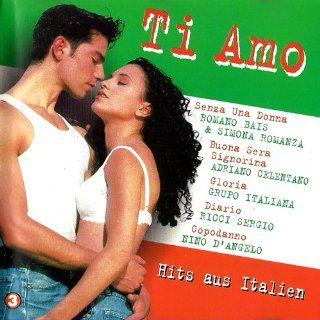 Ich liebe dich   auf italienisch (CD Compilation, 18 Titel, Diverse