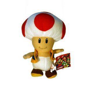 Super Mario Plüsch Toad 18 cm Plüschfigur von Nintendo