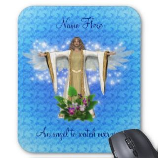 Guardian Angel Inspirational Mousepad