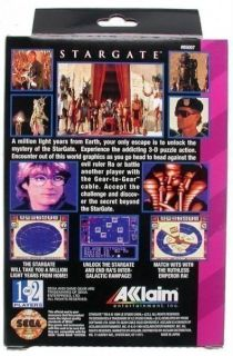 Game Gear   Stargate (US Import) (NEU & OVP)