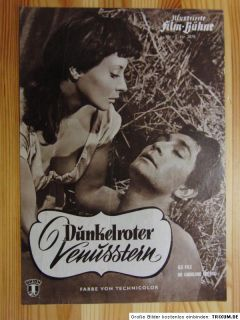 Dunkelroter Venusstern (1955) IFB 2878 Jean Claude Pascal Alfred Adam