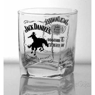 Jack Daniels Whiskey Gläser Set Horse Küche & Haushalt