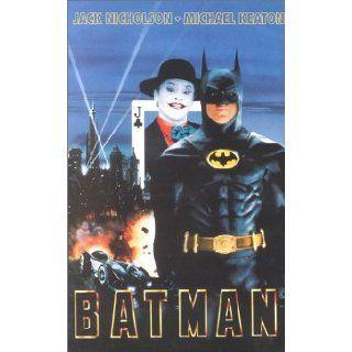 Batman [VHS] Michael Keaton, Kim Basinger, Jack Nicholson, Danny