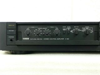 YAMAHA C 60 Stereo Control Amplifier