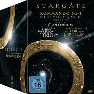 61 DVD Box * Stargate Kommando SG 1 Season 1 10 NEU OVP komplette