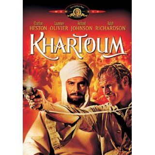 Khartoum Charlton Heston, Sir Laurence Olivier, Richard