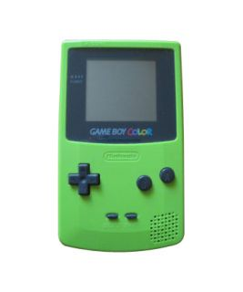 Nintendo Game Boy Color Grün Handheld 045496710781