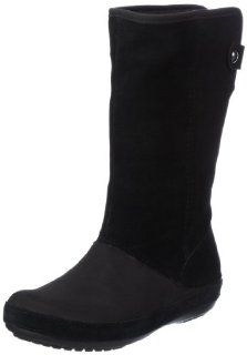 crocs Berryessa Tall Suede Boot 12930 Damen Fashion Halbstiefel