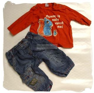 Markenkleidung~Junge~62 68~ENGLAND MODE~NEXT*TU*Jacke*Hose