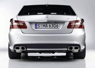 Mercedes E63 AMG W212 Endschalldämpfer inkl Endrohre original AMG