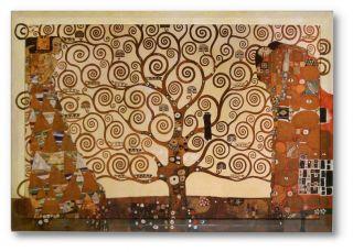 Bild Gustav Klimt Baum des Lebens Galeriebild