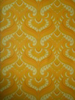 60er 70er Jahre Tapete Blumen Muster 70s Rockabilly wallpaper 70s 60s