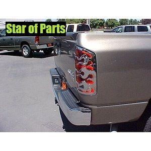 Rücklicht Cover Flame Dodge Ram 1500 2500 3500